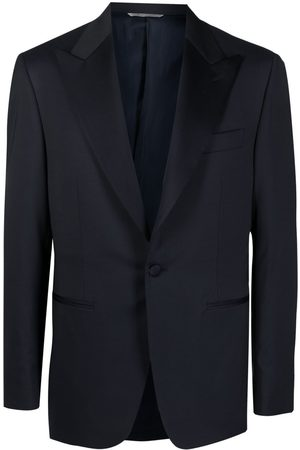 CANALI Heren Blazers - Single-breasted tuxedo blazer