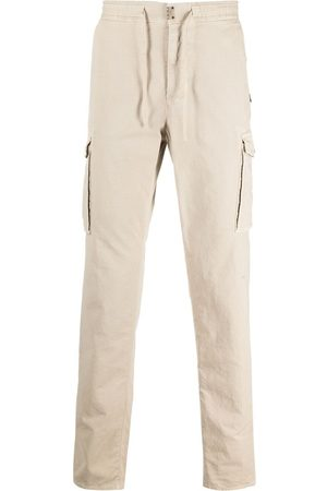 Incotex Heren Cargo's - Straight-leg cargo trousers