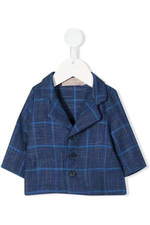 LA STUPENDERIA Checked button up jacket