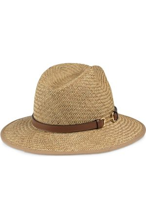 Gucci Heren Hoeden - Horsebit detail straw hat