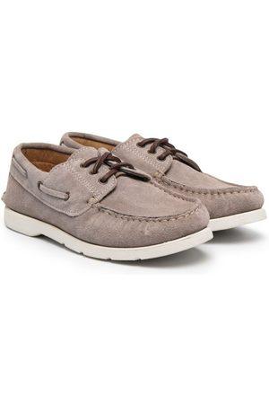 PèPè Lace-up deck shoes