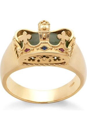Dolce & Gabbana 18kt yellow crown ring