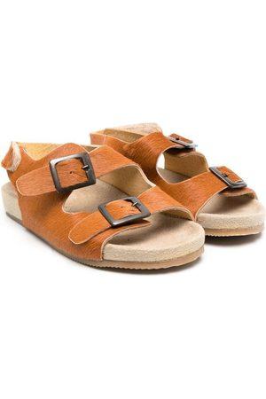 PèPè Pony-fur sandals