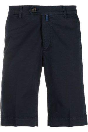 corneliani Heren Shorts - Pressed-crease chino shorts
