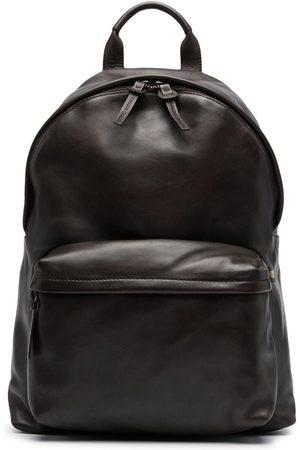 Officine creative Multiple pocket leather backpack