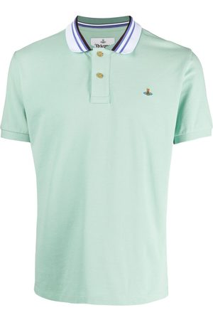 Vivienne Westwood Heren Poloshirts - Embroidered-logo polo shirt