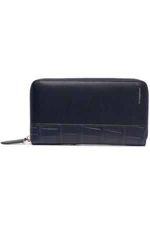 Burberry Crocodile-effect leather wallet