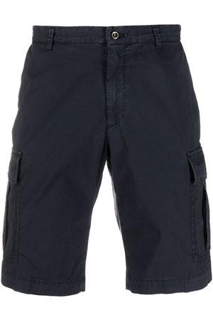 BRIGLIA Cargo pocket knee-length shorts