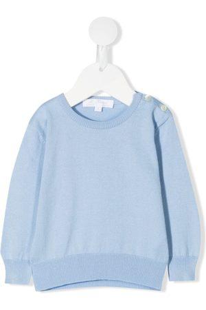 Mariella Ferrari Sweaters - Knitted cotton sweater