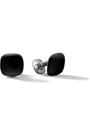 David Yurman Streamline black onyx cufflinks