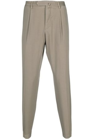 DELL'OGLIO Heren Chino's - Concealed-front trousers