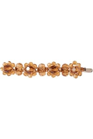 Simone Rocha Flower hair clip in crystal