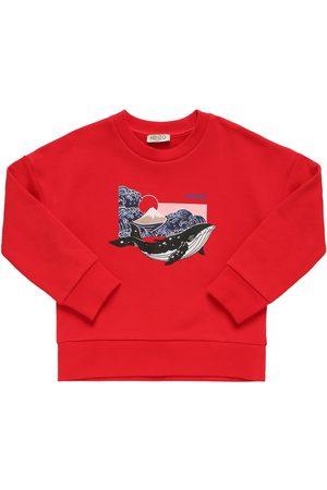 Kenzo Meisjes Sweaters - Printed Cotton Sweatshirt
