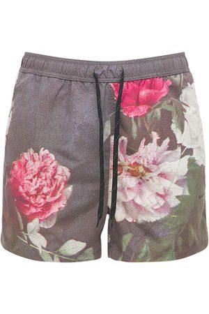 Soulland Heren Shorts - William Flower Print Shorts