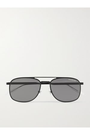 MONTBLANC Aviator-Style Metal Sunglasses