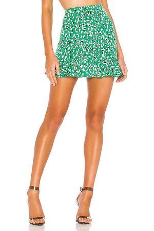 superdown Kelly Ruffle Mini Skirt in