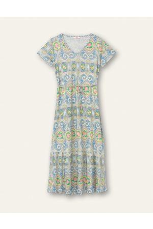 Oilily Dames Jersey jurken - Dlinen jersey jurk