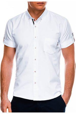 Ombre Clothing Overhemd heren korte mouw k489