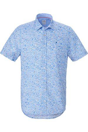 Hatico Overhemd van 100% katoen korte mouwen Pure