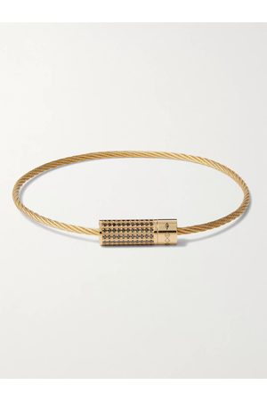 Le Gramme 18-Karat Diamond Bracelet