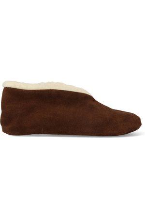 Bernardino Dames Pantoffels - Spaanse sloffen 100% wol donker