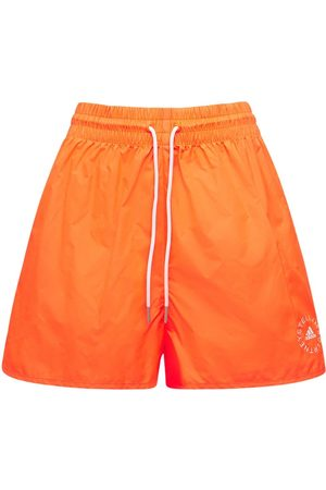 Stella McCartney Dames Shorts - Cotton & Tech Mini Shorts