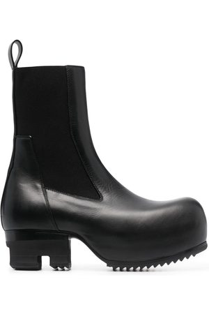 Rick Owens Beatle Ballast leather boots