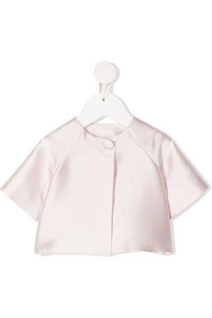 La Stupenderia Donsjassen - Short-sleeve silk jacket