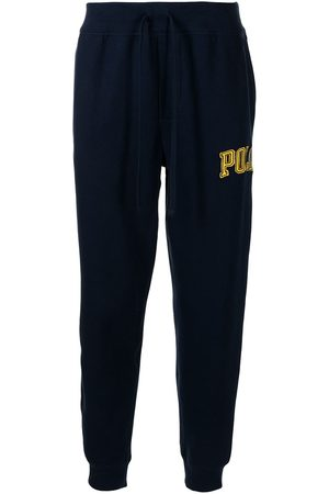 Polo Ralph Lauren Logo-patch straight-leg track pants