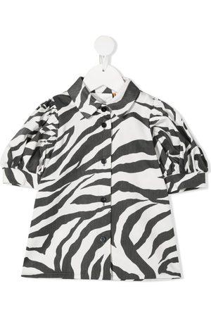 CAROLINE BOSMANS Zebra-print blouse
