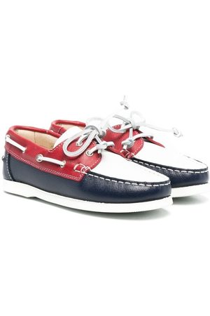 MONTELPARE TRADITION Colour-block loafers