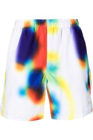 STUSSY Heren Shorts - Soul Water print shorts