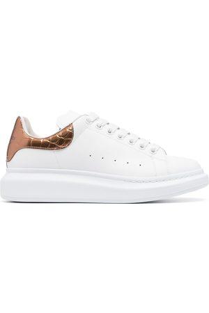 Alexander McQueen Heren Lage sneakers - Oversize leather sneakers