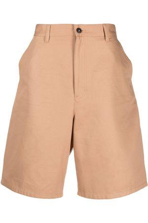 Ami Mid-rise denim shorts