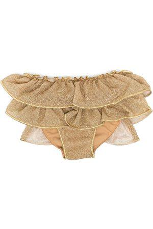 Oseree Lumière glittered bikini bottom