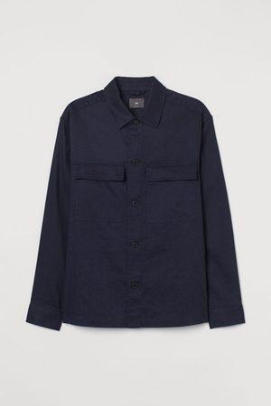 H&M Heren Overhemden - Hemd van linnenmix