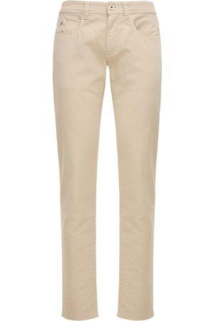 Loro Piana Heren Jeans - 18cm Stretch Cotton Jeans