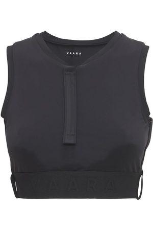 VAARA Dames Ondergoed - Zipped Front Sports Bra