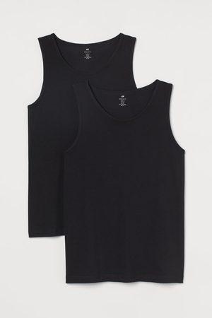 H&M Set van 2 singlets Regular Fit