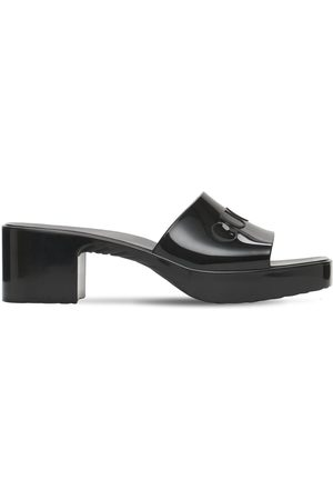 Gucci 60mm Rubber Slide Sandals