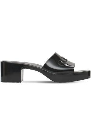 Gucci 60mm Rubber Slide Sandals