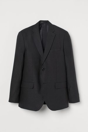 H&M Heren Blazers - Linnen blazer - Slim Fit