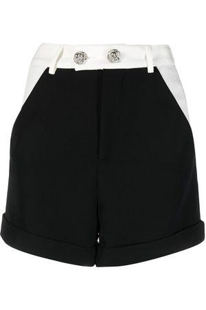 Philipp Plein Dames Shorts - Cady two-tone short shorts