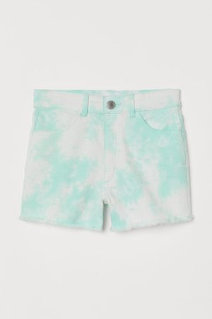 H&M Meisjes Shorts - Short van keper