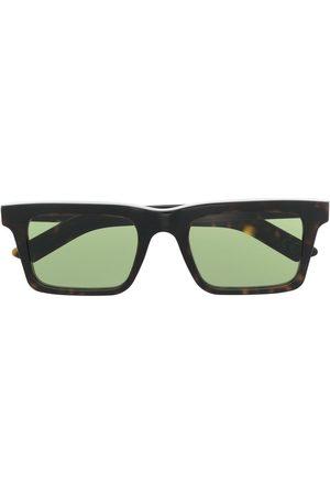 Retrosuperfuture Heren Zonnebrillen - Tortoiseshell rectangular sunglasses