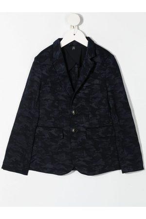 Emporio Armani Jongens Blazers - Camouflage-print blazer