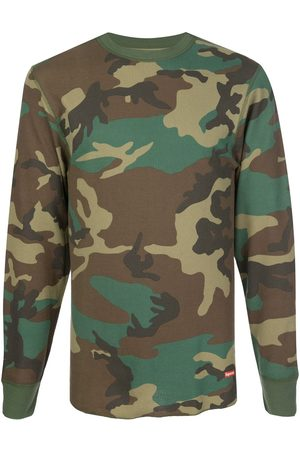 Supreme X Hanes camouflage thermals