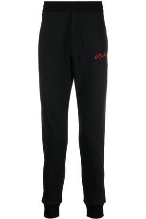 Alexander McQueen Heren Joggingbroeken - Embroidered logo track pants