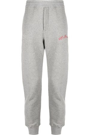 Alexander McQueen Heren Joggingbroeken - Embroidered logo track pants