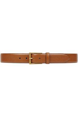 Gucci Heren Riemen - Square buckle waist belt